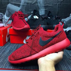 "NIKE ROSHE YEEZY BOOST 350 CUSTOM – ""RED OCTOBER"""