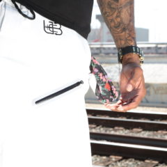 "Underground Beach Club ""Cloud White"" Board Shorts"