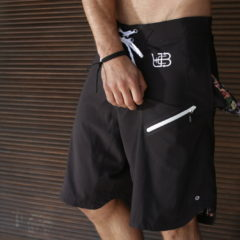 "Underground Beach Club ""Black Seal"" Board Shorts"