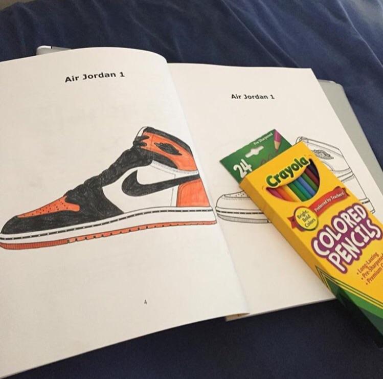 - Jordan/Sneaker Coloring Books – FEELGOOD THREADS