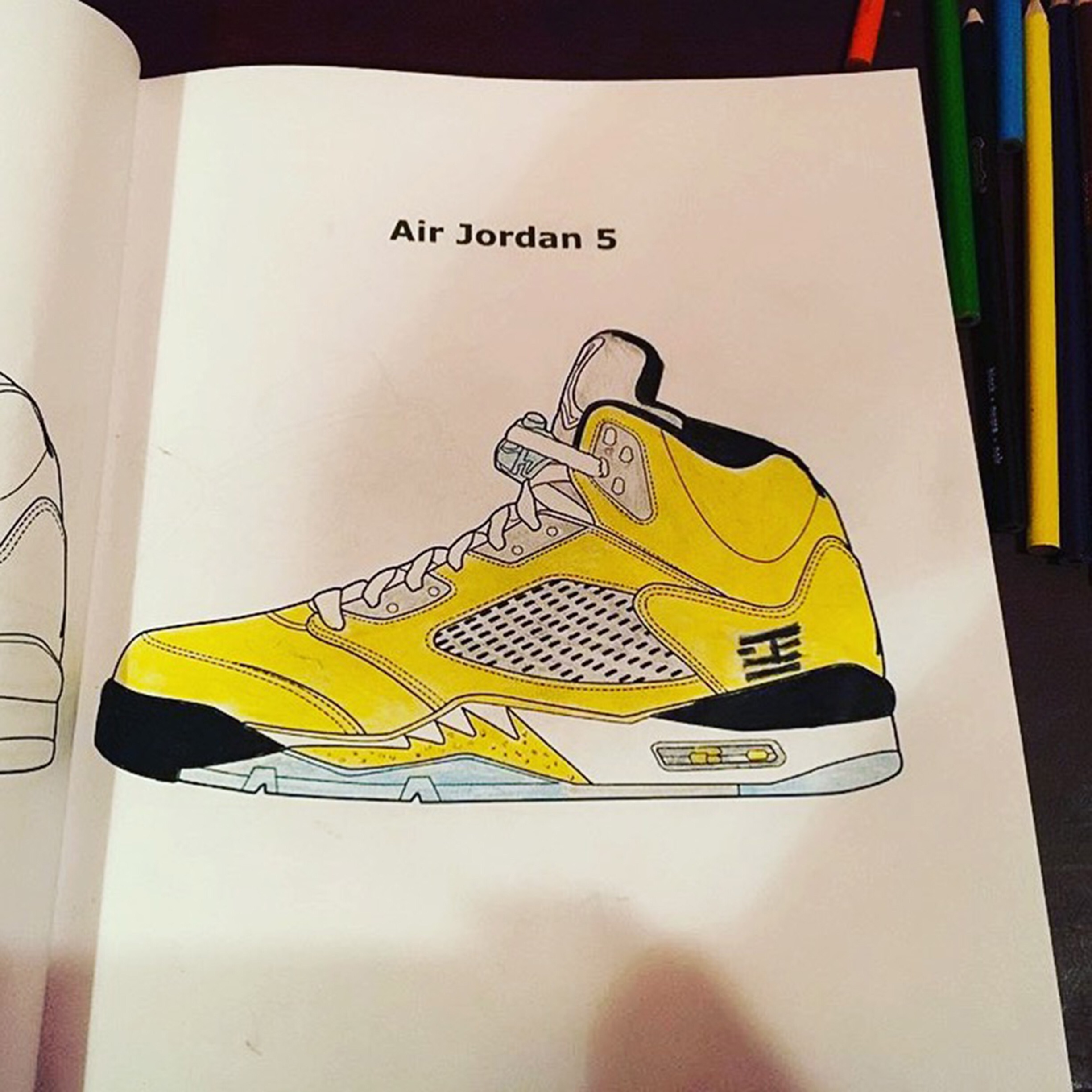 - Jordan/Sneaker Coloring Books – FEELGOOD THREADS