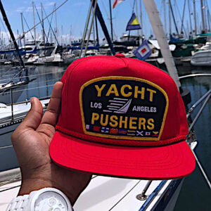 "The ""Yacht Pushers"" Nautical Snapback Hat"