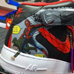 Air Force Ones – Spiderman Customs