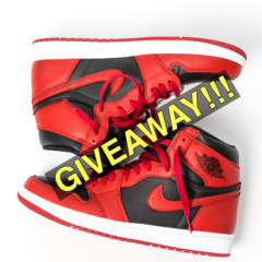 GIVEAWAY!!! Jordan 1 Bloodline to Varsity 85 Custom Contest